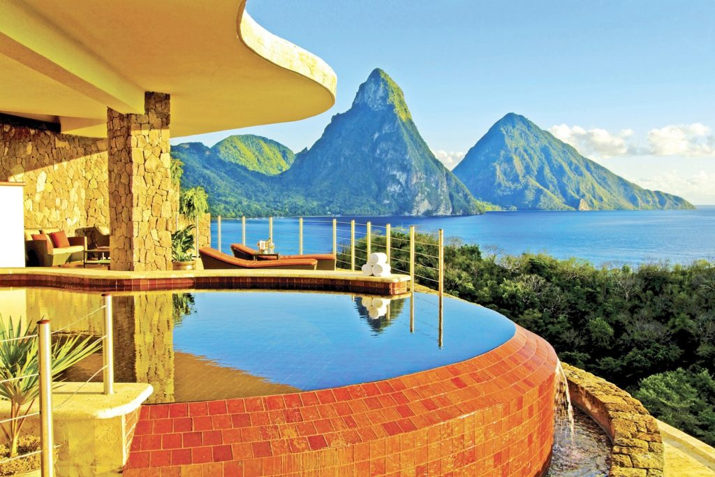 jade mountain st lucia